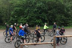 Mountainbikeholdet på tur